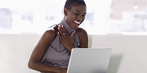 african-american-woman-computer