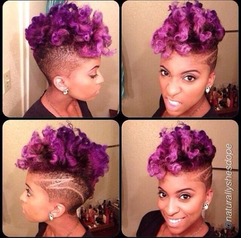 Afro punk con colorido